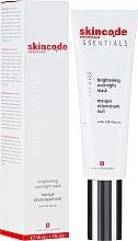 Parfums et Produits cosmétiques Masque de nuit éclaircissant à l'extrait de mauve - Skincode Essentials Alpine White Brightening Overnight Mask