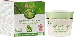 Parfums et Produits cosmétiques Crème bio à l'extrait de petit pois vert pour visage - Ava Laboratorium Eco Garden Certified Organic Cream With Green Peas