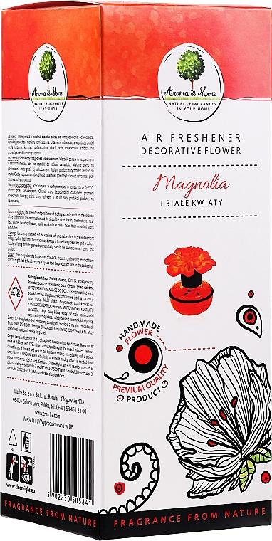 Parfum d'ambiance, fleur, Magnolia et Fleurs blanches - Aroma & More Air Freshener