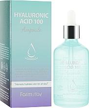 Parfums et Produits cosmétiques Sérum à l'acide hyaluronique pour visage - FarmStay Hyaluronic Acid 100 Ampoule
