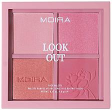 Parfums et Produits cosmétiques Palette de maquillage pour visage - Moira Look Out Palette