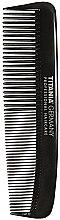 Parfums et Produits cosmétiques Peigne de poche pour homme, 12,5 cm, noir - Titania Havannah