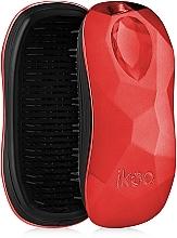 Parfums et Produits cosmétiques Brosse à cheveux compacte - Ikoo Home Black Dragon Lady Red