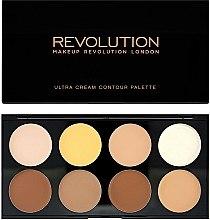 Parfums et Produits cosmétiques Palette contouring texture crème - Makeup Revolution Ultra Cream Contour Palette