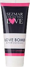 Parfums et Produits cosmétiques Soin nettoyant pour le corps et l'hygiène intime - Sezmar Collection Love Aphrodisiac Shower Gel Love Bomb