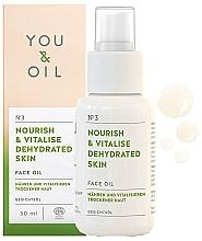 Huile à l'huile d'amande douce pour visage - You & Oil Nourish & Vitalise Dehydrated Skin Face Oil — Photo N1