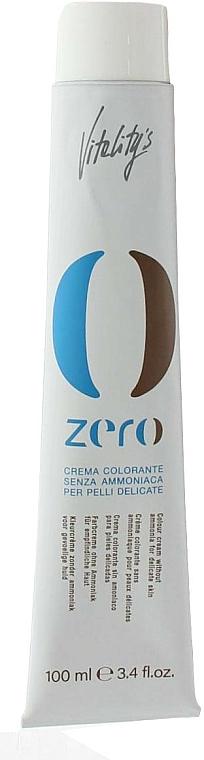 Crème colorante pour cheveux, sans ammoniaque - Vitality's Zero Color Cream
