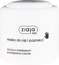 Parfums et Produits cosmétiques Masque pour mains et ongles - Ziaja Pro Hand and Nail Mask