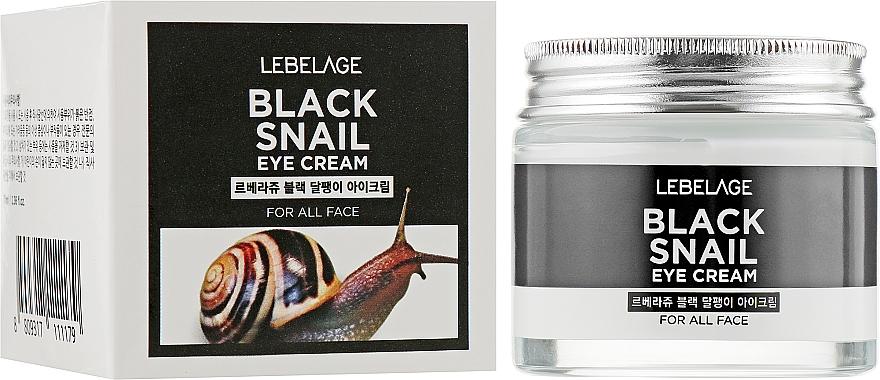Crème au filtrat de bave d'escargot contour des yeux - Lebelage Black Snail Eye Cream — Photo N2