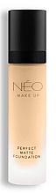 Parfums et Produits cosmétiques Fond de teint mat - NEO Make Up Perfect Matte Foundation