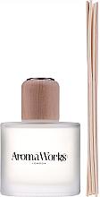 Parfums et Produits cosmétiques Bâtonnets parfumés, Verveine exotique et Bois de Santal - AromaWorks Nurture Reed Diffuser