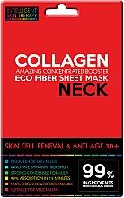 Parfums et Produits cosmétiques Masque tissu au collagène pour cou - Beauty Face IST Skin Cell Reneval & Anti Age Neck Mask Marine Collagen
