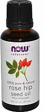 Parfums et Produits cosmétiques Huile essentielle de rose musquée - Now Foods Essential Oils 100% Pure Rose Hip Seed Oil
