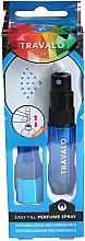 Parfums et Produits cosmétiques Vaporisateur de parfum rechargeable - Travalo Ice Blue Perfume Atomiser