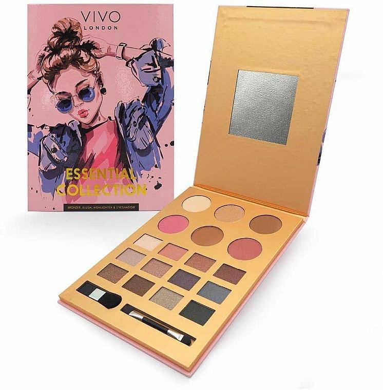 Palette de maquillage - Vivo London Essential Collection Palette