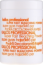 Parfums et Produits cosmétiques Poudre décolorante pour cheveux - Kallos Cosmetics Powder For Hair Bleaching
