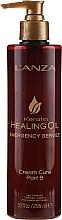Traitement à la kératine pour cheveux, étape B - L'anza Keratin Healing Oil Emergency Service Cream Cure Part B — Photo N1