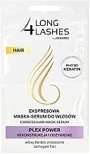 Parfums et Produits cosmétiques Masque instantané pour les cheveux - Long4Lashes Hair Plex Power