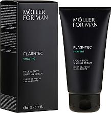 Parfums et Produits cosmétiques Crème à raser - Anne Moller Man Flashtec Shaving Face And Body Shaving Cream