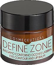 Parfums et Produits cosmétiques Baume à l'huile d'amande douce et avocat pour contour des yeux et lèvres - Surgic Touch Define Zone Eye Contour And Lip Balm
