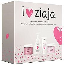 Parfums et Produits cosmétiques Coffret cadeau - Ziaja I Love Ziaja Marshmallow (b/peeling/300ml + h/cr/50ml + shower/gel/260ml + b/foam/250ml)
