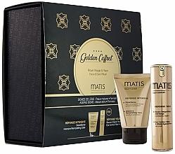 Parfums et Produits cosmétiques Matis Golden Coffrete Densifiance - Coffret (crème pour visage/50ml + baume contour des yeux/15ml)