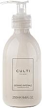 Parfums et Produits cosmétiques Culti Milano Geranio Imperiale - Lotion parfumé hydratante et nourrissante pour mains et corps