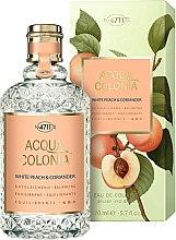 Parfums et Produits cosmétiques Maurer & Wirtz 4711 Acqua Colonia White Peach & Coriander - Eau de Cologne