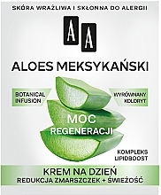 Parfums et Produits cosmétiques Crème de jour au jus d'aloe vera mexicain - AA Moc Energy Cream 50+