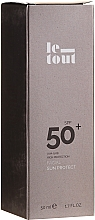 Parfums et Produits cosmétiques Crème solaire pour visage SPF 50 - Le Tout Facial Sun Protect