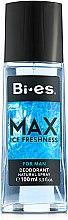 Parfums et Produits cosmétiques Bi-Es Max - Déodorant avec vaporisateur pour corps