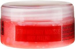 Parfums et Produits cosmétiques Gommage corporel naturel à base de sel de mer et mousse de fraises - Stani Chef's Strawberry Mousse Body Peeling