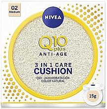 Parfums et Produits cosmétiques Fond de teint coussin crémeux - Nivea Q10 Plus Anti-Aging Radiance BB Cushion