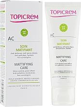 Parfums et Produits cosmétiques Soin à l'extrait de trèfle des prés pour visage - Topicrem AC Mattifying Care Cream
