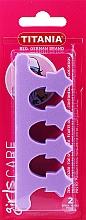 Parfums et Produits cosmétiques Séparateur d'oreilles, violet - Titania