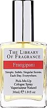 Parfums et Produits cosmétiques Demeter Fragrance The Library of Fragrance Frangipani Pick-Me-Up Cologne Spray - Eau de Cologne