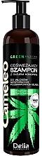 Parfums et Produits cosmétiques Shampooing rafraîchissant à l'huile de chanvre - Delia Cosmetics Cameleo Green Shampoo