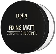 Parfums et Produits cosmétiques Poudre libre matifiante pour visage - Delia Fixing Matt Skin Defined Loose Powder