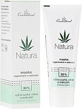 Parfums et Produits cosmétiques Masque régénérant à l'huile de chanvre pour visage - Cannaderm Natura