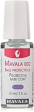 Parfums et Produits cosmétiques Base coat protectrice Mavala 002 - Mavala Double Action Treatment Base