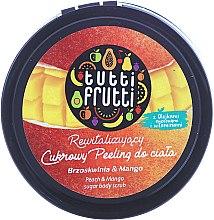 Parfums et Produits cosmétiques Gommage corporel au sucre à la pêche et mangue - Farmona Tutti Frutti Sugar Scrub
