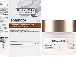 Parfums et Produits cosmétiques Crème de nuit au beurre de karité - Bella Aurora Splendor 10 Total Regeneration Night Cream