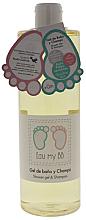 Parfums et Produits cosmétiques Gel nettoyant délicat pour enfants - Air-Val International Eau My BB Shower Gel & Shampoo