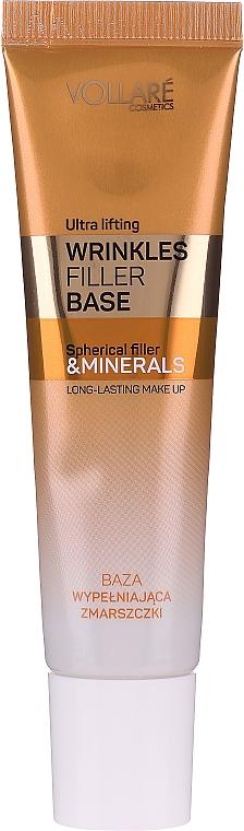 Base de teint lissante anti-rides aux minéraux - Vollare Cosmetics Wrinkles Filler Base