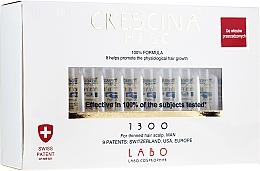 Parfums et Produits cosmétiques Traitement en ampoules stimulant la croissance des cheveux - Crescina HFSC Re-Growth 1300