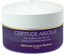 Parfums et Produits cosmétiques Crème de nuit à l'huile de lavande - Methode Jeanne Piaubert Certitude Absolue Expert Anti-Wrinkle Night Care