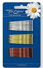 Parfums et Produits cosmétiques Épingles à cheveux 23736, argent, or et bronze - Top Choice