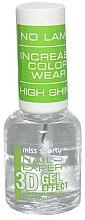 Parfums et Produits cosmétiques Top coat effet gel - Miss Sporty Nail Expert 3D Gel Effect Top Coat