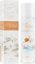 Parfums et Produits cosmétiques Essence à la bave d'escargot pour visage - Esfolio Nutri Snail Daily Essence