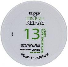 Parfums et Produits cosmétiques Pâte coiffante matifiante - Dikson Finish Keiras Pasta Modellante Opaca 13